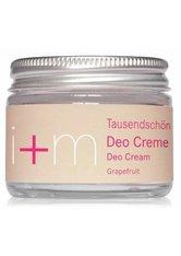 I+M NATURKOSMETIK - i+m Naturkosmetik Tausendschön Grapefruit Deodorant Creme 50 ml - DEODORANTS