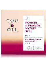 YOU & OIL Nourish & Energise Mature Skin Stückseife  100 g