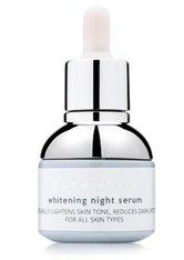 PURE WHITE COSMETICS - Pure White Cosmetics Whitening Night Serum Nachtserum  30 ml - SERUM