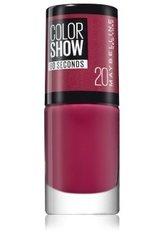 Maybelline Color Show 60 Seconds Nail Polish 7ml 20 Blush Berry