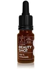 YOU & OIL Beauty Shots 100 % Vitamins Gesichtsöl  10 ml
