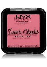 NYX Professional Makeup Sweet Cheeks Glow Creamy Powder Blush 5ml Rose & Play