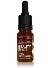 YOU & OIL Beauty Shots 100 % Resveratrol Gesichtsöl  10 ml