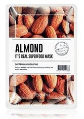 DERMAL It's Real Superfood Almond Tuchmaske  1 Stk
