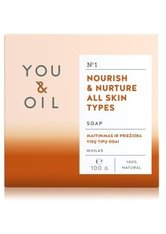 YOU & OIL Nourish & Nurture All Skin Types Stückseife 100 g