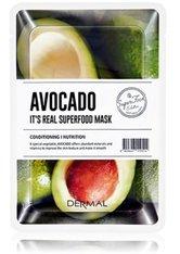DERMAL It's Real Superfood Avocado Tuchmaske  1 Stk