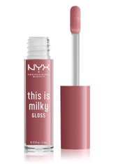 NYX Professional Makeup This Is Milky Gloss  Lipgloss 4 ml Nr. 02 - Cherry Skimmed