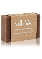 VALLOLOKO - Valloloko Wake Up and Cinnamon Kaffee & Zimt Stückseife  100 g - SEIFE