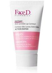 Face D 3-Luronics Instant Anti-Wrinkle Lip Contour Lippenbalsam 15 ml Transparent
