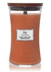 WoodWick Caramel Toasted Sesame Hourglass Duftkerze  610 g