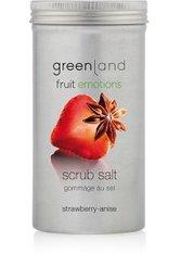 GREENLAND - Greenland Fruit Emotions Strawberry-Anise Scrub Salt Körperpeeling 400 ml - KÖRPERPEELING
