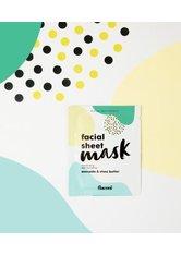 flaconi Face Essentials Avocado und Sheabutter Tuchmaske 1 Stk