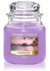 YANKEE CANDLE - Yankee Candle Bora Bora Shores Housewarmer Duftkerze  411 g - Duftkerzen