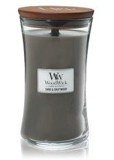 WoodWick Sand & Driftwood Large Hourglass Duftkerze  610 g