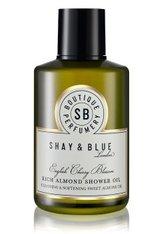 SHAY & BLUE - SHAY & BLUE English Cherry Blossom Shower Oil Duschöl  250 ml - DUSCHEN & BADEN