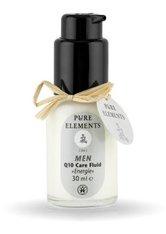 PURE ELEMENTS - Pure Elements Herrenserie Q 10 Care Gesichtsfluid  30 ml - GESICHTSPFLEGE