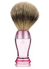 ÊSHAVE - eShave Dachshaar Fine Pink Rasierpinsel  1 Stk - Makeup Pinsel
