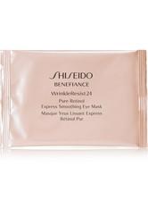 SHISEIDO - Shiseido - Benefiance Wrinkleresist24 Pure Retinol Express Smoothing Eye Mask – 4 Stück – Augenmasken - one size - AUGENMASKEN