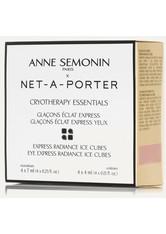 ANNE SEMONIN - Anne Semonin - Ice Cubes – 4 Gesichtsmasken, 4 Augenmasken - one size - CREMEMASKEN