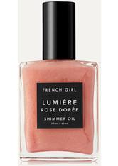 FRENCH GIRL ORGANICS - French Girl Organics - Lumière Rose Dorée Shimmer Oil, 60 Ml – Körperöl - one size - KÖRPERCREME & ÖLE