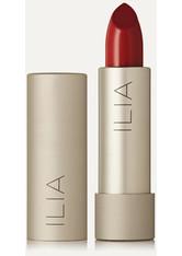 ILIA - Ilia - Color Block Lipstick – Tango – Lippenstift - Rot - one size - LIPPENSTIFT