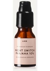 LIXIRSKIN - Lixirskin - Night Switch Pha/aha 10%, 15 Ml – Serum - one size - NACHTPFLEGE