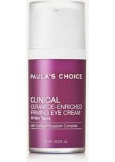 PAULA'S CHOICE - Paula's Choice - Clinical Ceramide-enriched Firming Eye Cream, 15 Ml – Augencreme - one size - AUGENCREME