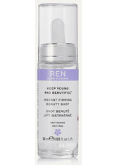 REN - REN Clean Skincare - Keep Young And Beautiful Instant Firming Beauty Shot, 30 Ml – Serum - one size - SERUM