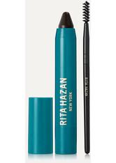 RITA HAZAN - Rita Hazan - Root Concealer Touch Up Stick – Dark Brown/black – Ansatzstift - Braun - one size - HAARTÖNUNG