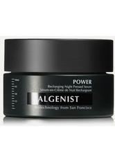 ALGENIST - Algenist - Power Recharging Night Pressed Serum, 60 Ml – Serum - one size - NACHTPFLEGE