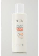 AETHIC - Aethic - Triple-filter Ecocompatible Sunscreen Lsf 40, 150 Ml – Sonnencreme - one size - SONNENCREME