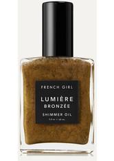 FRENCH GIRL ORGANICS - French Girl Organics - Lumière Bronzée Shimmer Oil, 60 Ml – Körperöl - one size - KÖRPERCREME & ÖLE