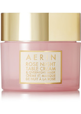 Aerin Beauty - Rose Night Table Cream And Overnight Mask – Gesichtsmaske - one size - AERIN BEAUTY