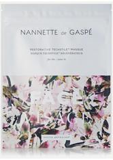 NANNETTE DE GASPÉ - Nannette de Gaspé - Restorative Techstile Face Masque – Gesichtsmaske - one size - TUCHMASKEN