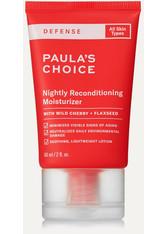 PAULA'S CHOICE - Paula's Choice - Defense Nightly Reconditioning Moisturizer, 60 Ml – Nachtcreme - one size - CLEANSING