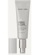 ALLIES OF SKIN - Allies of Skin - Bright Future Overnight Facial, 50 Ml – Gesichtskur - one size - NACHTPFLEGE