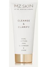 MZ SKIN - MZ Skin - Cleanse & Clarify Dual Action Aha Cleanser & Mask, 100 Ml – Gesichtsreinigung Und -maske - one size - CLEANSING