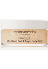 AFRICAN BOTANICS - African Botanics - Marula Detoxifying Salt And Sugar Body Scrub, 200 Ml – Körperpeeling - one size - KÖRPERPEELING