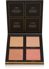 Huda Beauty - 3d Highlighter Palette – Golden Sands – Highlighter-palette - Braun - one size - HUDA BEAUTY