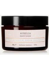 AURELIA PROBIOTIC SKINCARE - Aurelia Probiotic Skincare - Citrus Botanical Cream Deodorant, 50 G – Deodorant - one size - DEODORANTS
