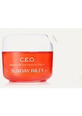 SUNDAY RILEY - Sunday Riley - C.e.o. C + E Antioxidant Protect + Repair Moisturizer, 50 G – Gesichtscreme - one size - TAGESPFLEGE