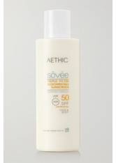 AETHIC - Aethic - Triple-filter Ecocompatible Sunscreen Lsf 50, 150 Ml – Sonnencreme - one size - SONNENCREME