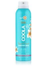 COOLA - Tropical Coconut Sunscreen Spay SPF30 - SONNENCREME