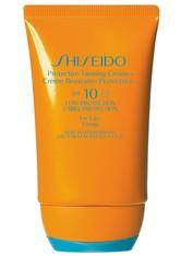 SHISEIDO - Shiseido Sun Care Protective Tanning Cream N SPF 10 Sonnencreme 50 ml - SONNENCREME