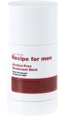 Recipe for men Produkte Alcohol-Free Deodorant Stick Deodorant 75.0 ml