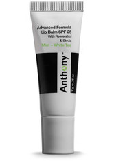 ANTHONY - Mint and White Tea Lip Balm SPF 25 - GESICHTSPFLEGE