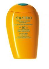 Shiseido Produkte Shiseido Produkte SUNCARE - Protective Tanning Emulsion SPF10 150ml Pflegeset 150.0 ml