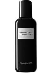 David Mallett - Shampoo No.3: La Couleur, 250 Ml – Shampoo Für Für Coloriertes Haar - one size