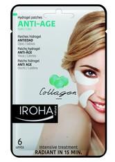 Iroha Produkte Anti-Age Hydrogel Patches Eyes / Lips Lippenpflege 6.0 pieces
