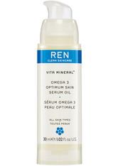 Ren Clean Skincare - Vita Mineral ™  Omega 3 Optimum Skin Serum Oil - Feuchtigkeitsserum